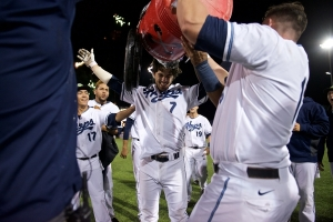 HILLSBORO, OR - SEPTEMBER 9: The Hillsboro Hops vs Salem-Keizer Volcanoes in Hillsboro, OR. (Molly J Smith/Hillsboro Hops)