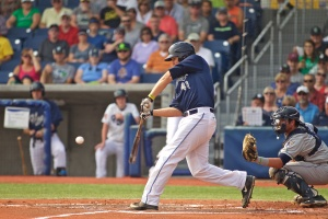 Trevor Mitsui posted a week that may never be replicated. (Craig Mitchelldyer/Hillsboro Hops)