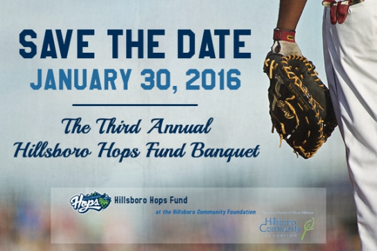 2016 Hops Fund Banquet Save the Date