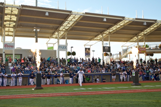 Hillsboro Hops vs Eugene Emeralds